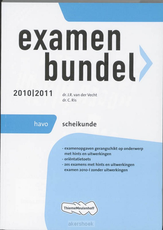 Examenbundel  / 2010/2011