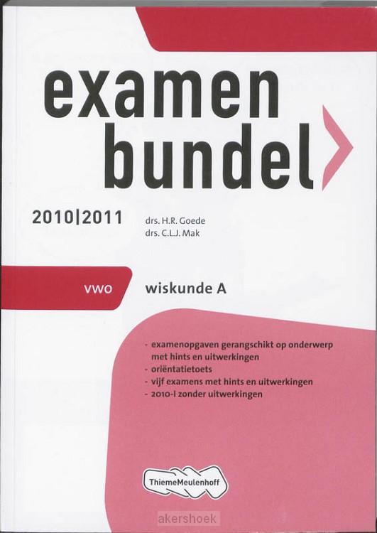 Examenbundel / Wiskunde A