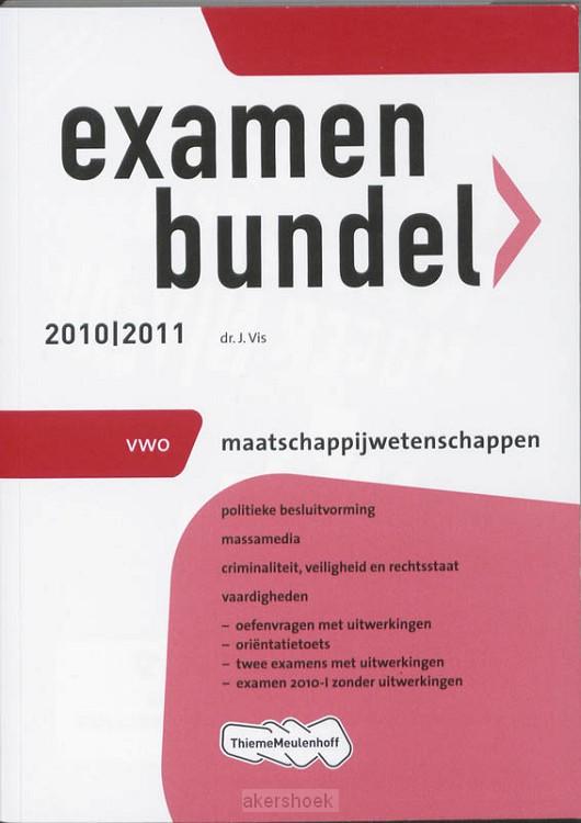 Examenbundel / Maatschapp