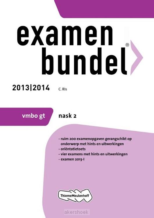 Examenbundel  / 2013/2014 vmbo-gt nask2