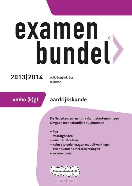 Examenbundel  / 2013/2014 vmbo-(k)gt aar