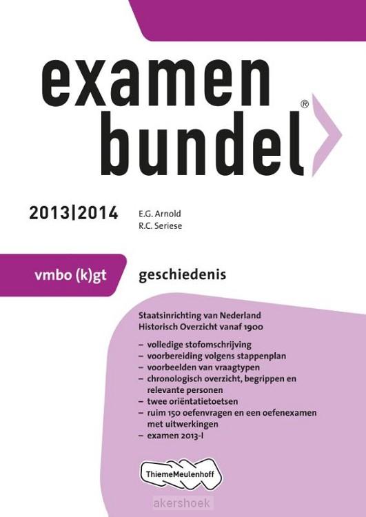 Examenbundel  / 2013/2014 vmbo-(k)gt ges