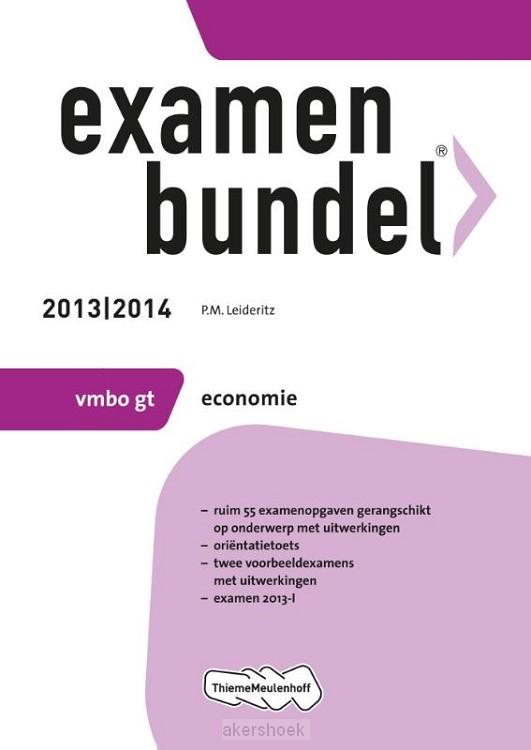 Examenbundel  / 2013/2014 vmbo-gt Econom