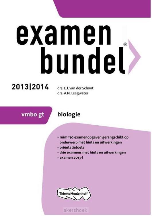 Examenbundel  / 2013/2014 vmbo-gt Biolog