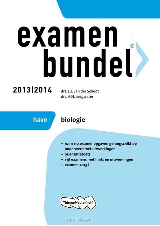 Examenbundel  / 2013/2014 havo biologie