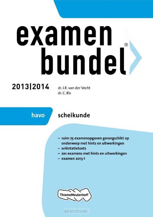 Examenbundel  / 2013/2014 havo scheikund