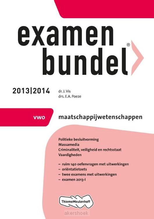 Examenbundel  / 2013/2014 vwo Maatschapp