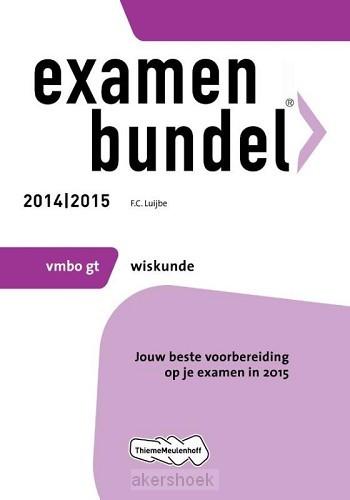 Wiskunde mbo gt 2014/2015 examenbundel