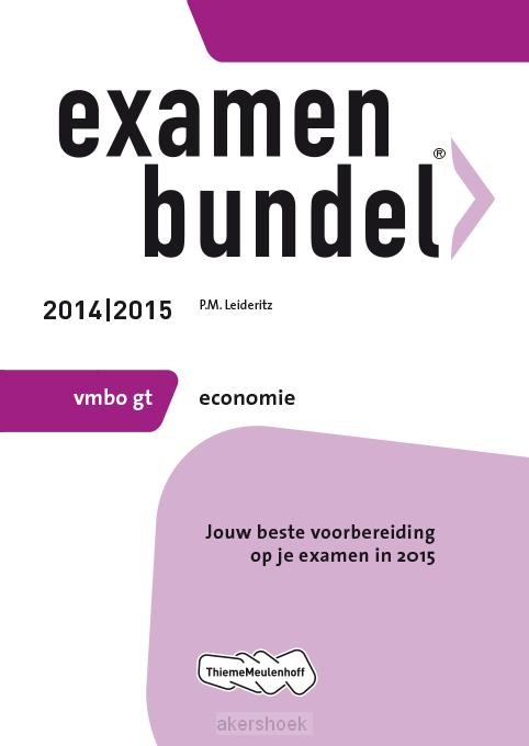 Economie / Vmbo gt 2014/2015