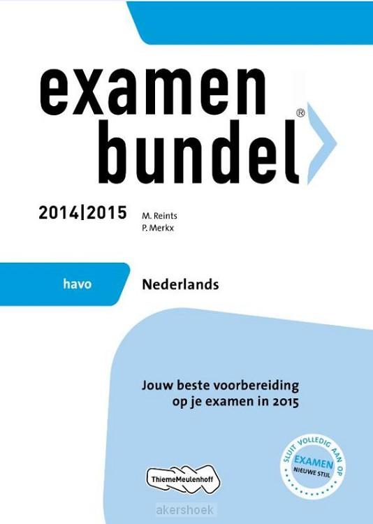 Nederlands / Havo 2014/2015