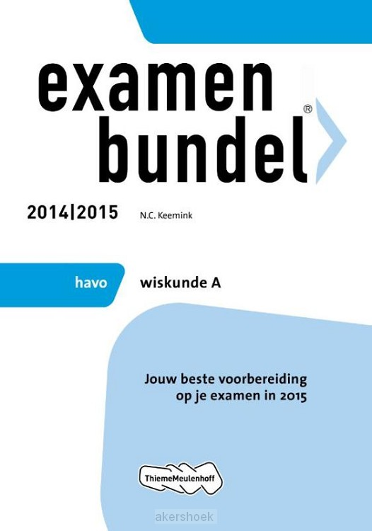 Wiskunde A / Havo 2014/2015