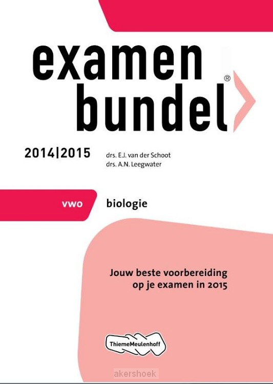 Biologie / Vwo 2014/2015