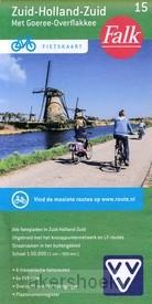 Falk VVV Fietskaart 15 Zuid-Holland-Zuid