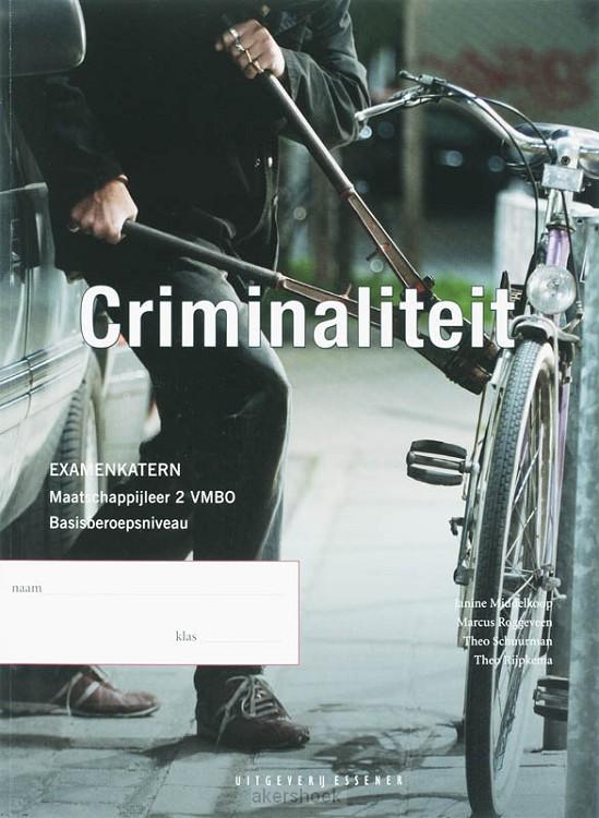 Criminaliteit / 2 VMBO ba