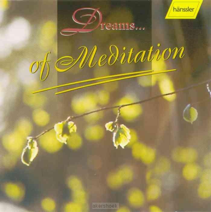 Dreams of meditation