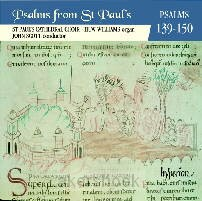 PSALMS FROM ST PAUL'S 139-150