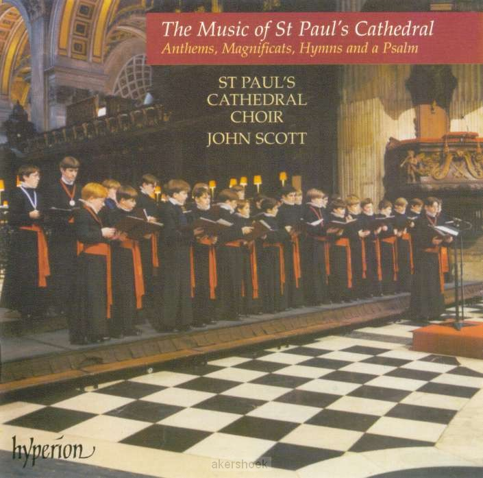 ANTHEMS, MAGNIFICATS, HYMS AND A PSALM
