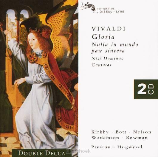 GLORIA VIVALDI/NISI DOMINUS/4 CANTATES