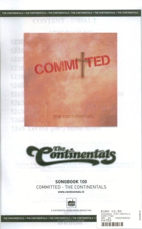 Committed songbook