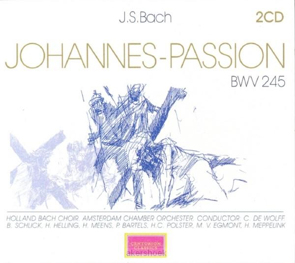 JOHANNES PASSION JS BACH