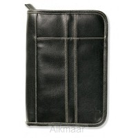 Biblecover distressed black medium
