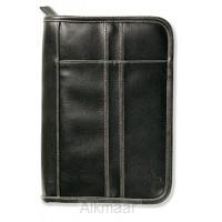 Biblecover distressed black medium