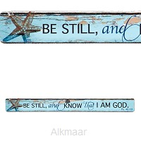 Be stil and know that I am God - Magneti