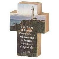 Tabletop Cross Lighthouse