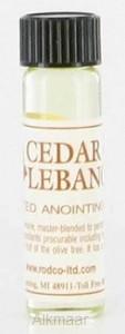 cedar of lebanon anointing