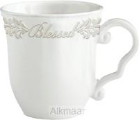 Blessed - Antique white