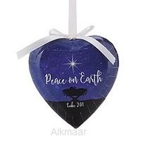 Decoupage ornament heart