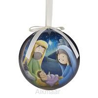 Decoupage ornament fist christmas