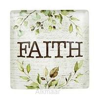 Glass Magnet Faith