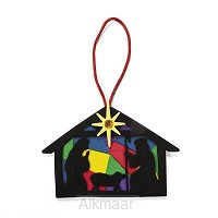 Craft kit nativity silhouette