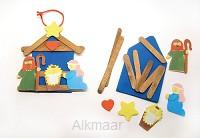 Craft kit nativity ornament