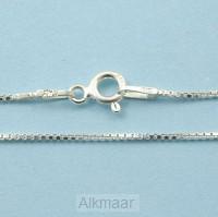Silver necklace 45cm