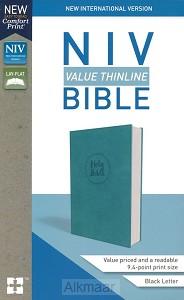 NIV value thinline bible turquoise imit