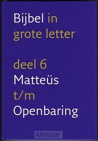 BIJBEL NBV gr letter