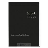 Bijbel KLEIN zwart flex goud