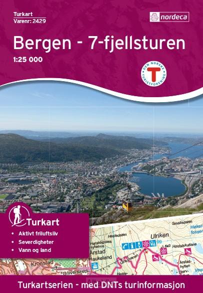 Bergen 2429 1/25 000 2012