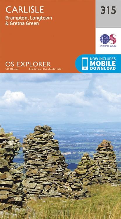 carlisle OS EX 315 1/25,000 2015