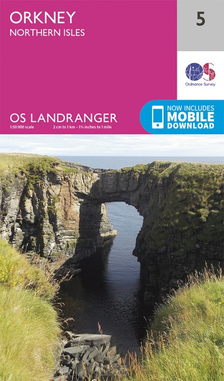 Orkney - Northern Isles OS 5 LR 1/50,000