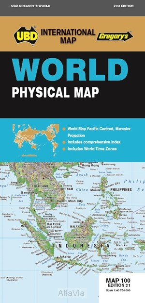 World Physical Pacific centred