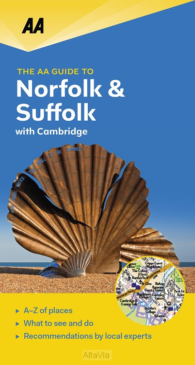 Norfolk & Suffolk with Cambridge guide to