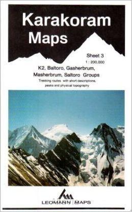 karakoram K2 baltoro Leomann 3 1/200,000