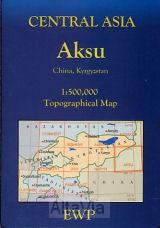 aksu Kirgizie 1/500,000
