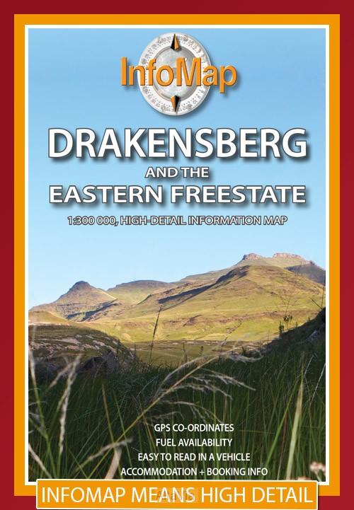 Drakensberg & Eastern Freestate 1/300000