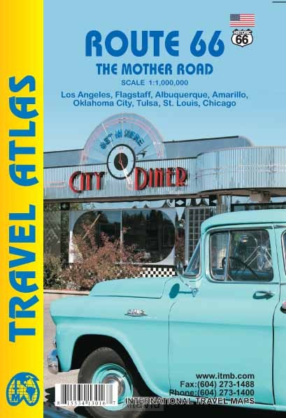 Route 66 The Mother Road atlas