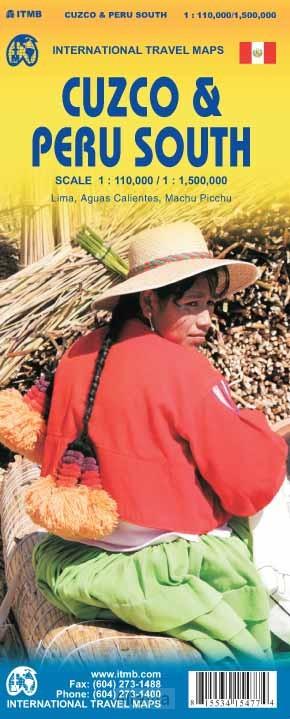 Cuzco / Peru Zuid 1/1,500,000) 2014