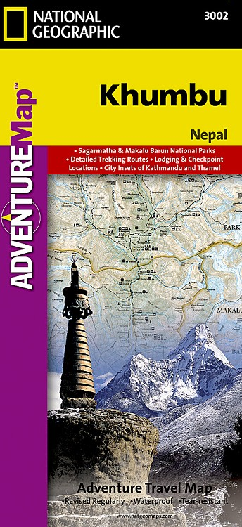 Khumbu adv. ng r/v (r) Nepal 1/125,000